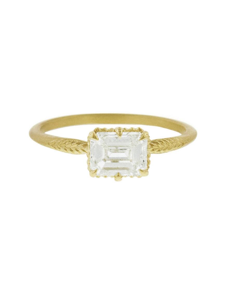 Diamond Evergreen Ring