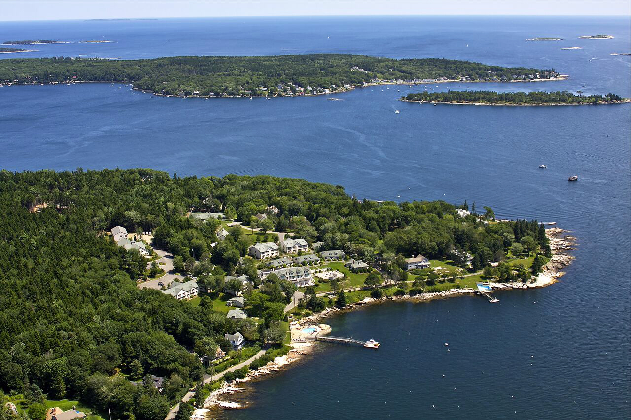 Spruce Point Inn in Boothbay Harbor, Maine