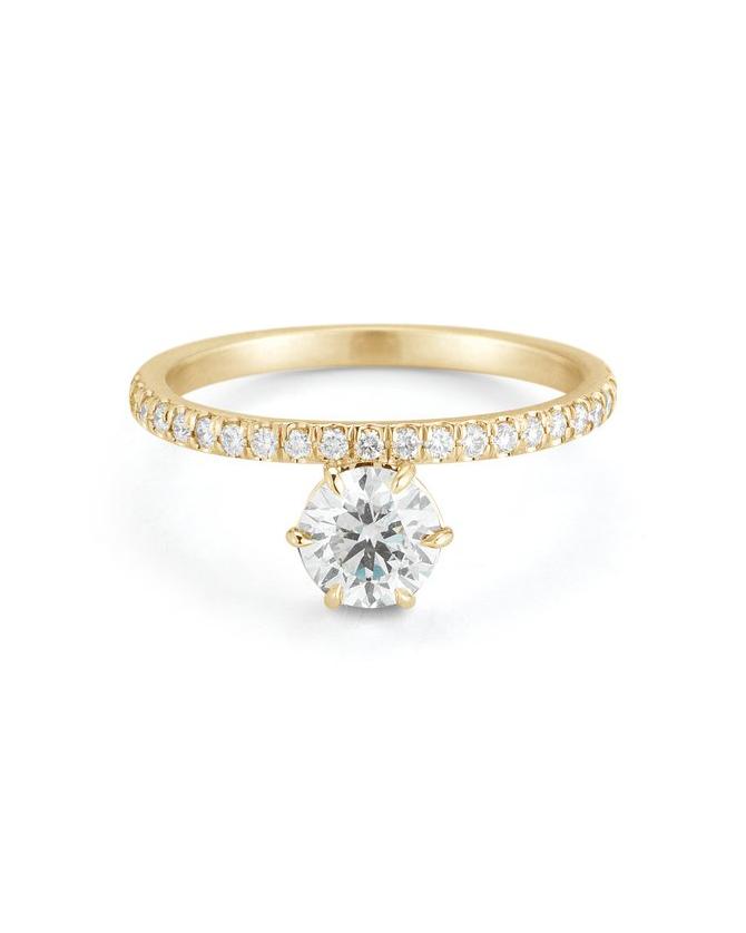 18KT Gold Astor ring