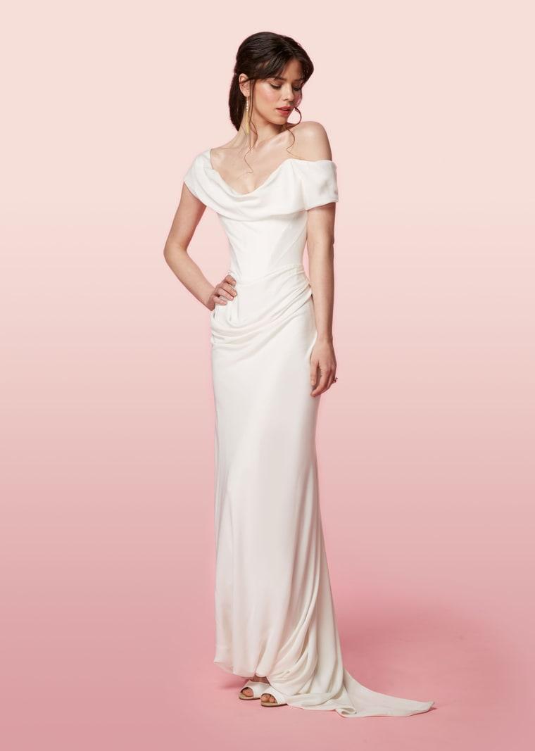 Dianna Agron Similar Wedding Dress