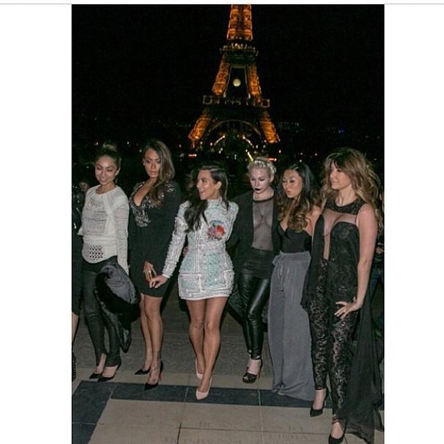 Kim Kardashian's bachelorette party