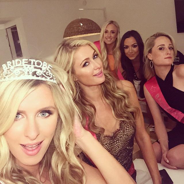 Nicky Hilton's bachelorette party