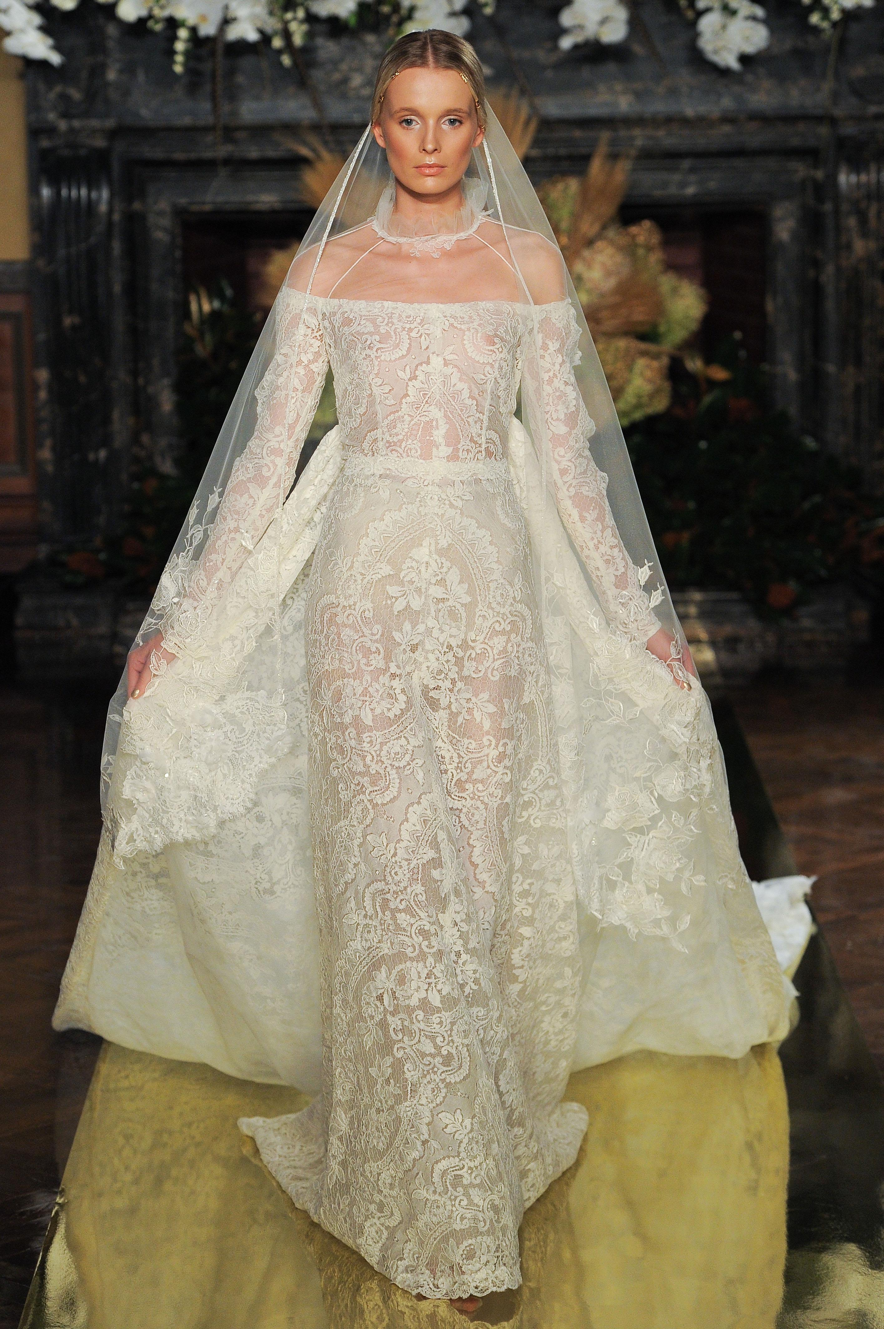 YolanCris Fall 2017 Wedding Dress Collection