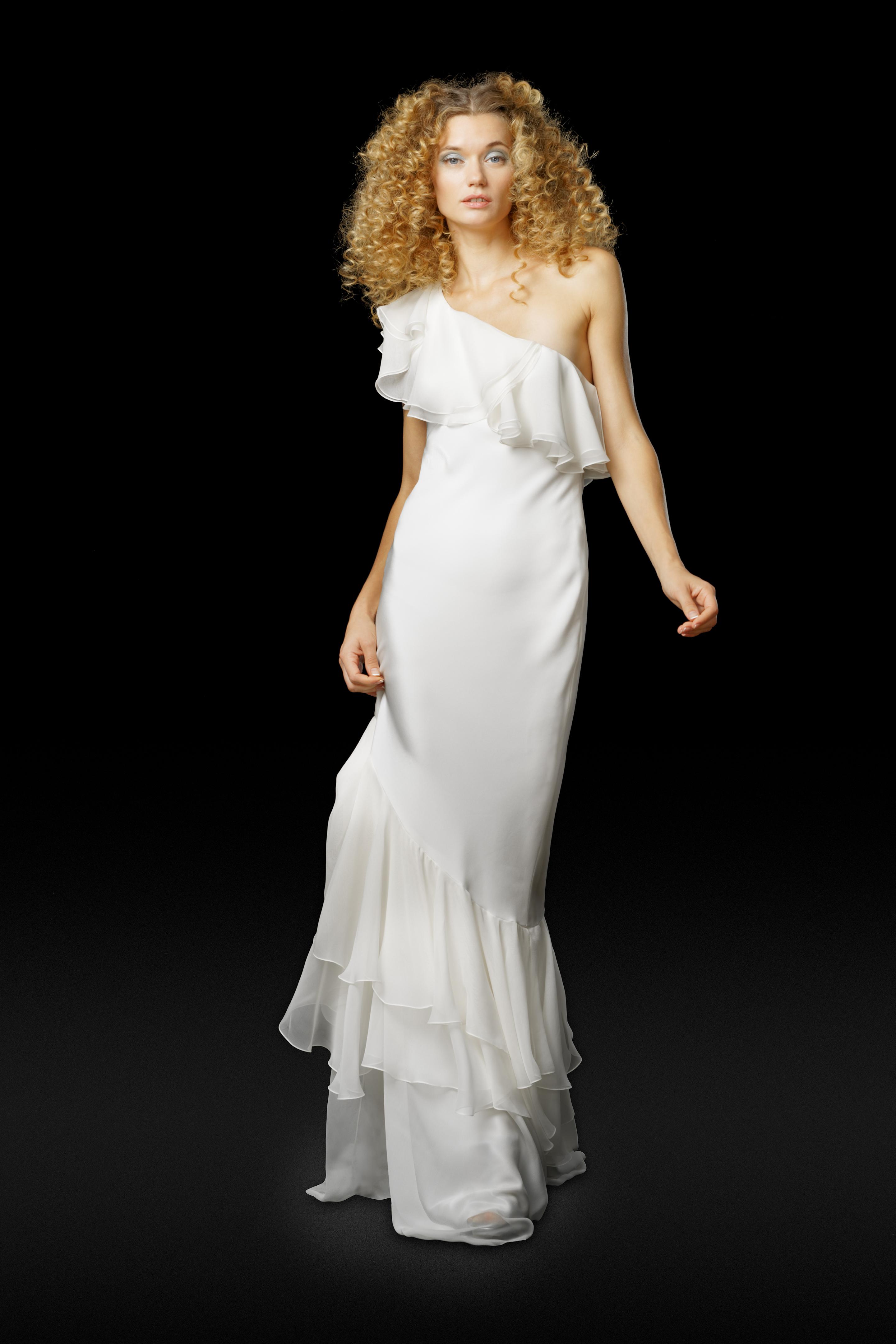 Elizabeth Fillmore Fall 2017 Wedding Dress Collection - Gina