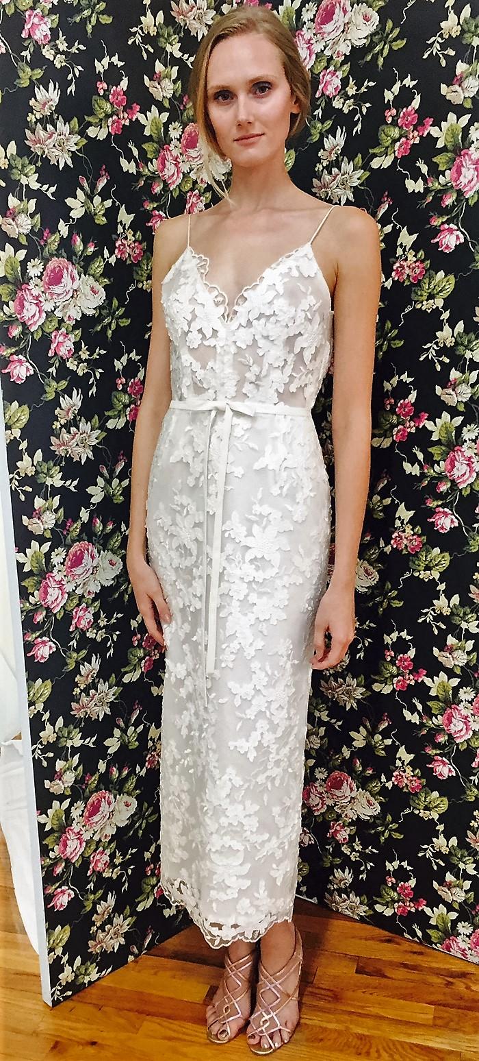 Elizabeth Fillmore Fall 2017 Wedding Dress Collection - Mika
