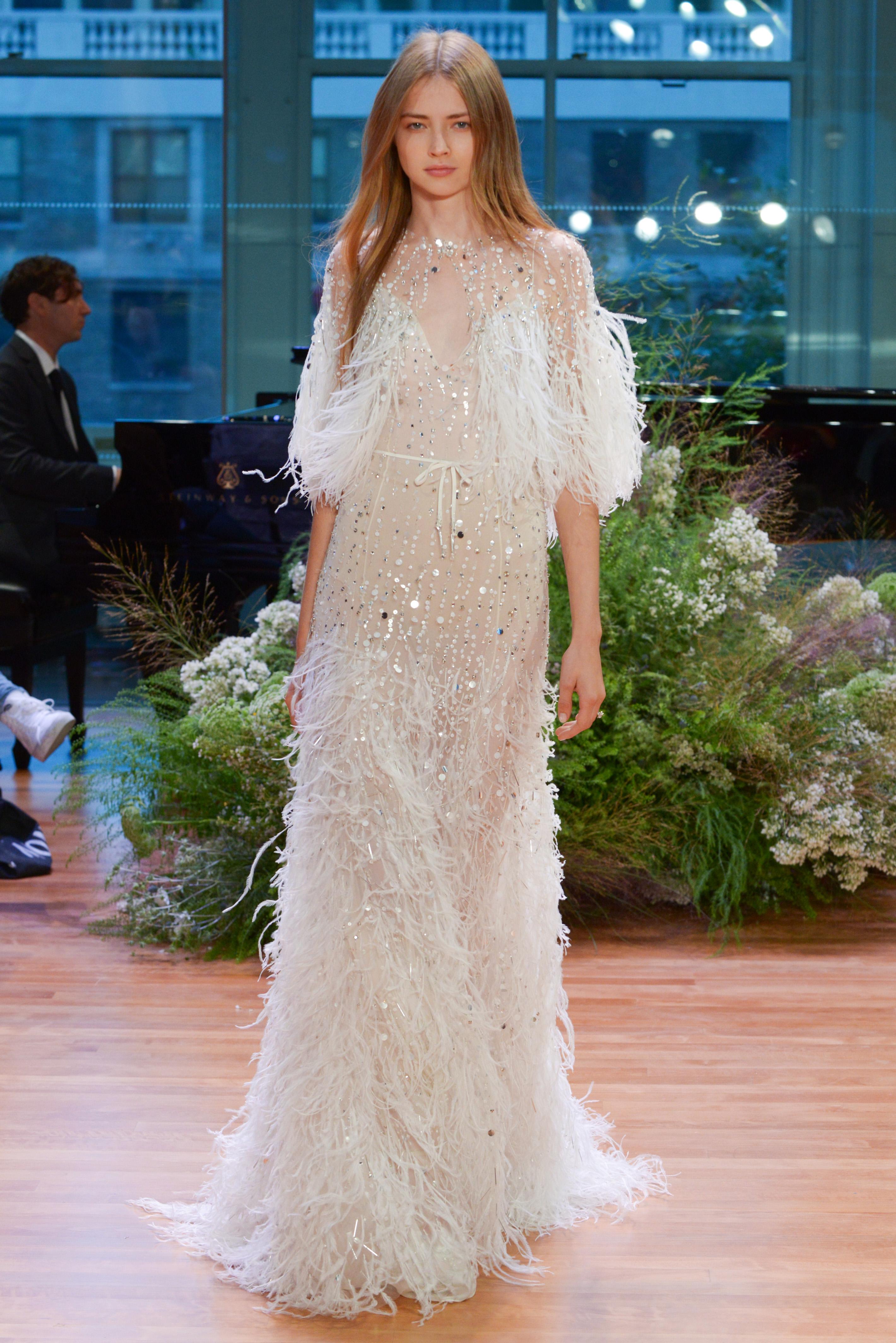 Monique Lhuillier Fall 2017 Wedding Dress Collection