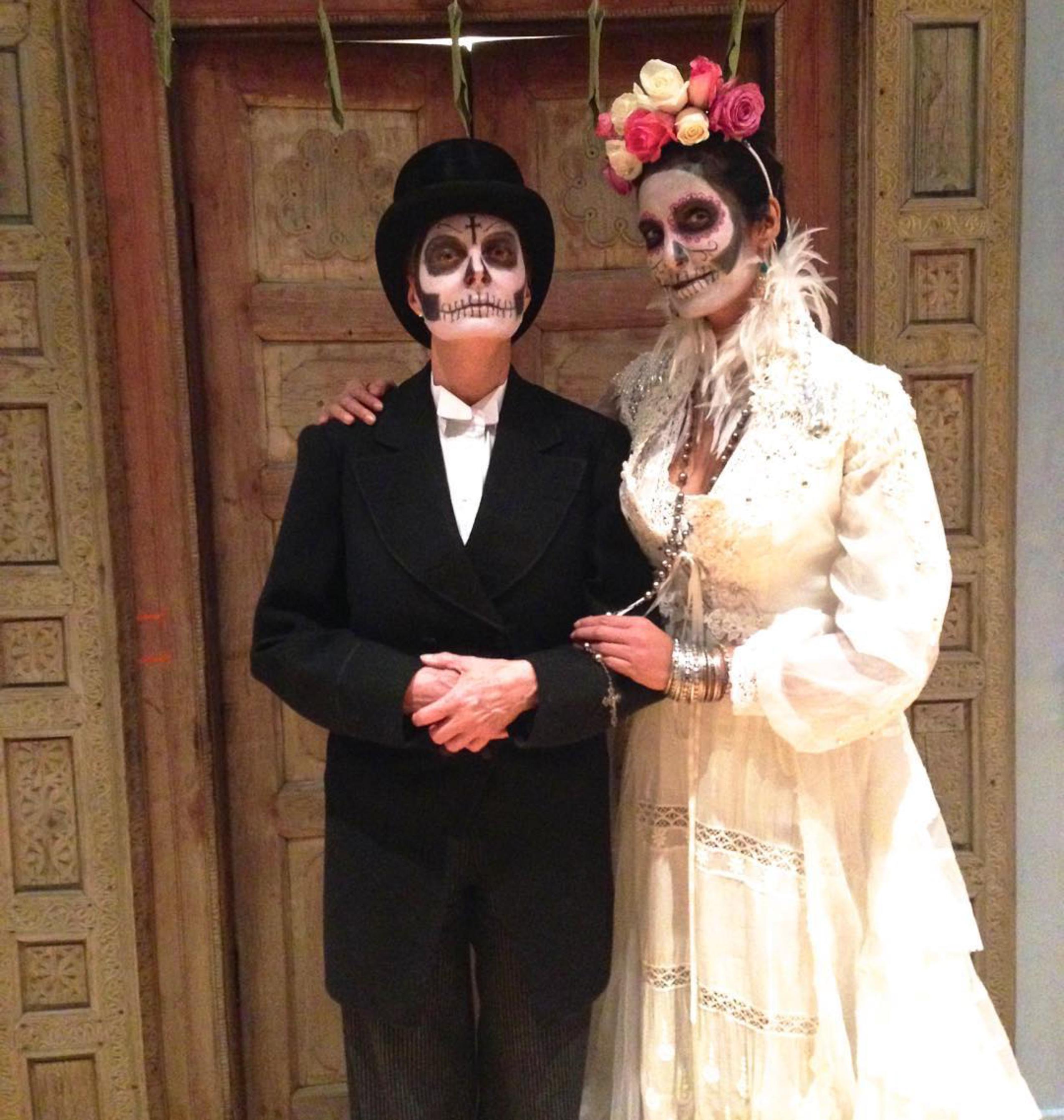 Halloween Bride.15 Celebrities Who Went Bridal For Halloween Martha