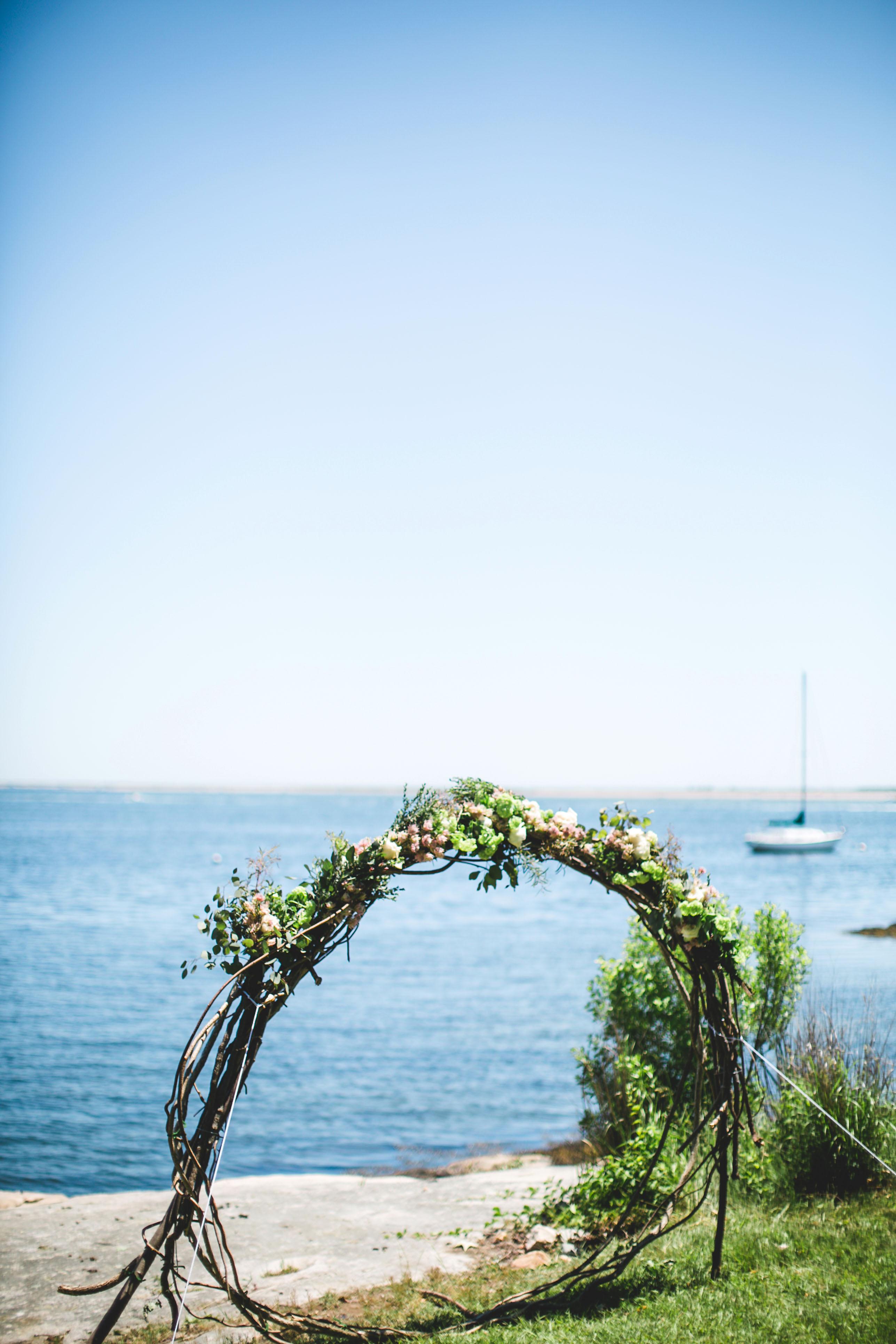 katie simon wedding ceremony structure