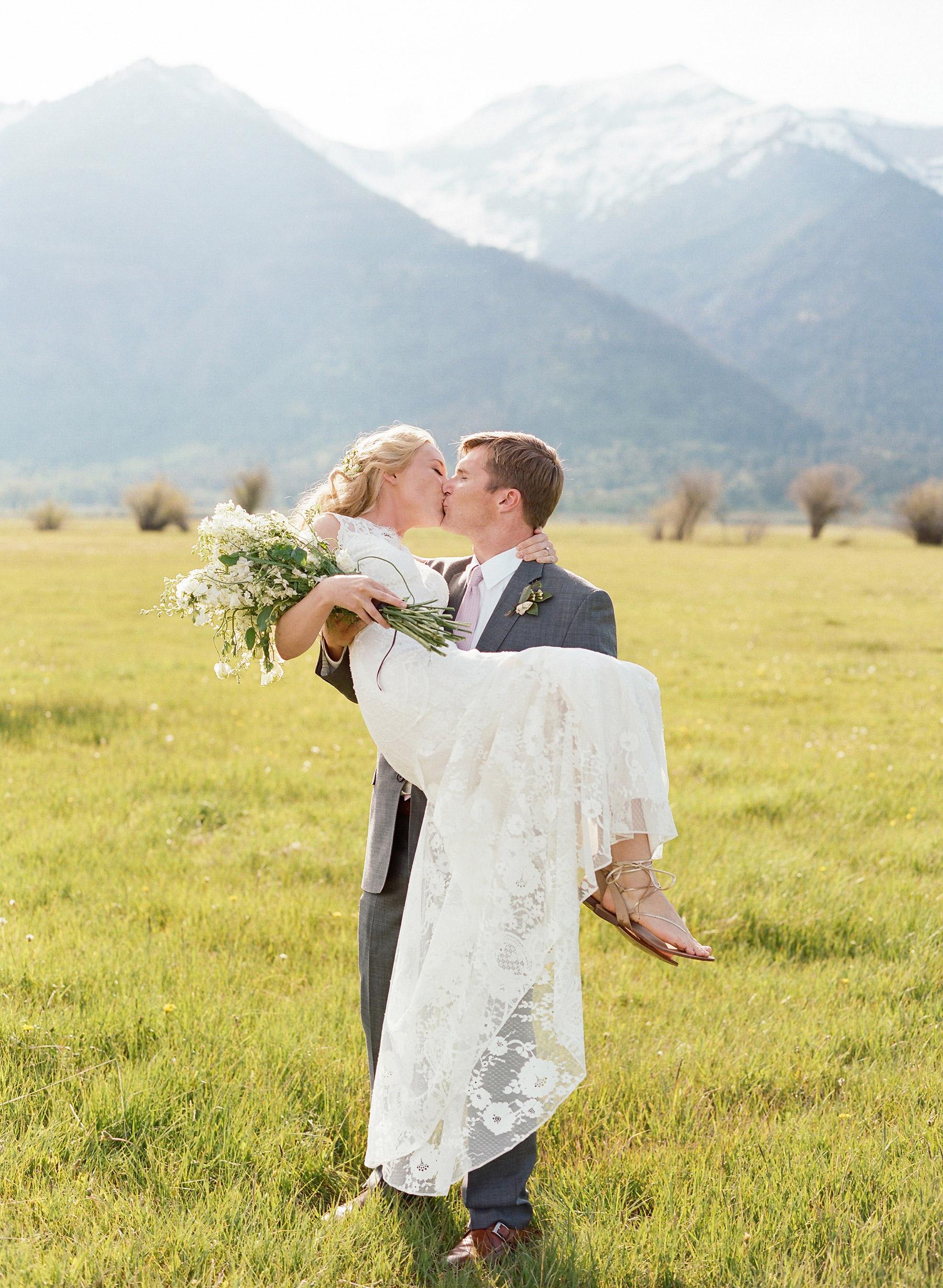 Colby John Wedding couple