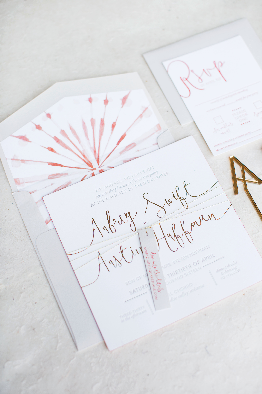 aubrey austin wedding stationery