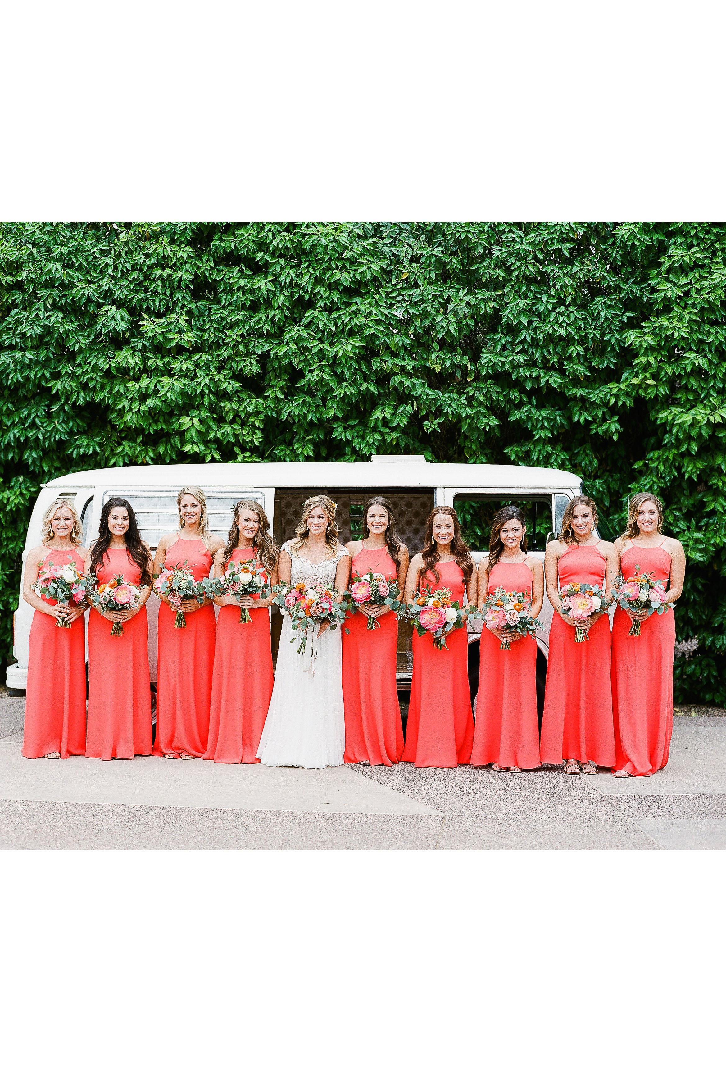 aubrey austin wedding bridesmaids