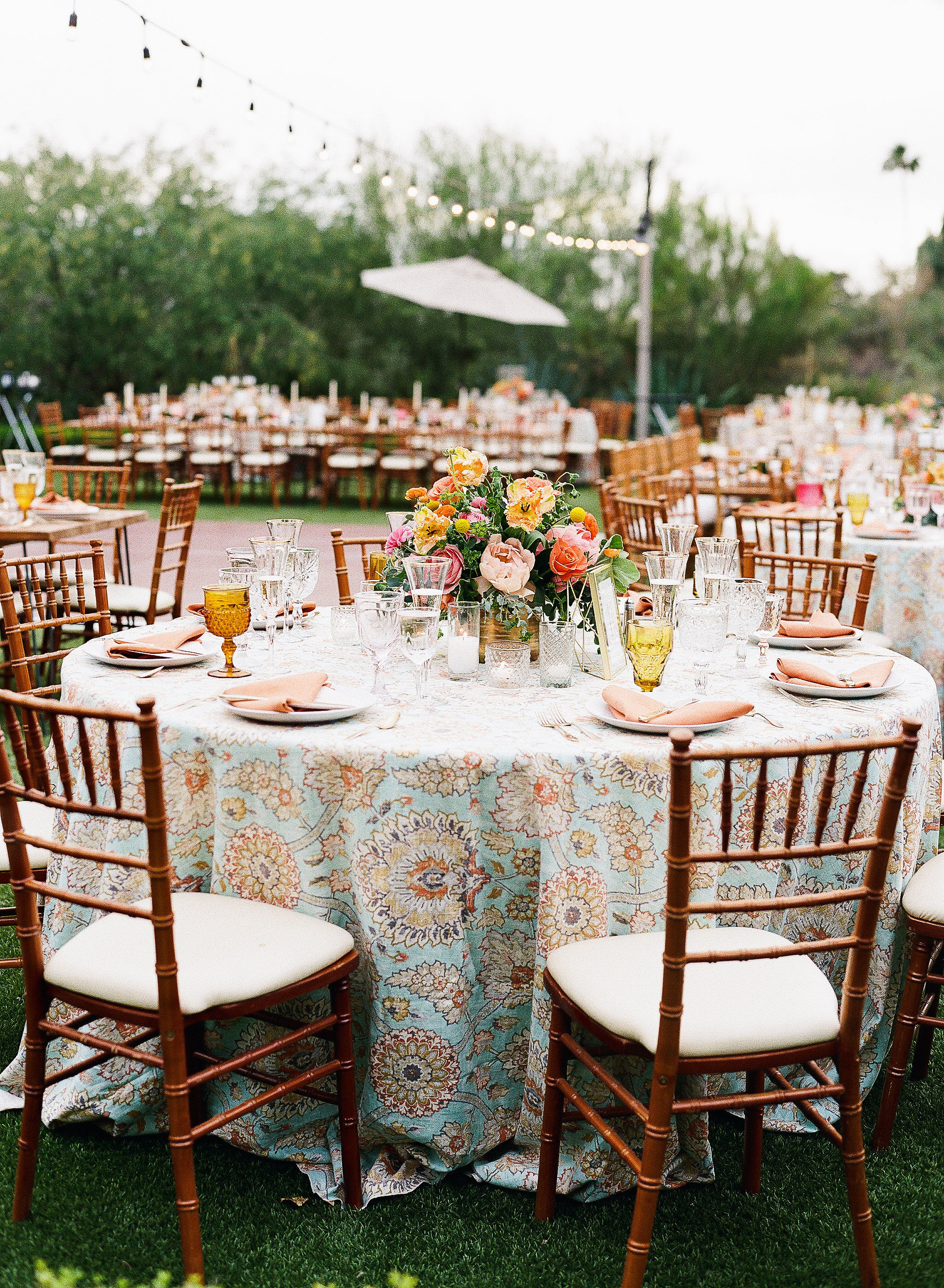 aubrey austin wedding table