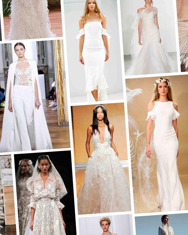 Wedding Dress Trends Fall 2017