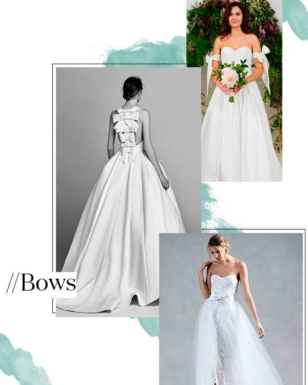Fall 2017 Wedding Dress Trend: Bows