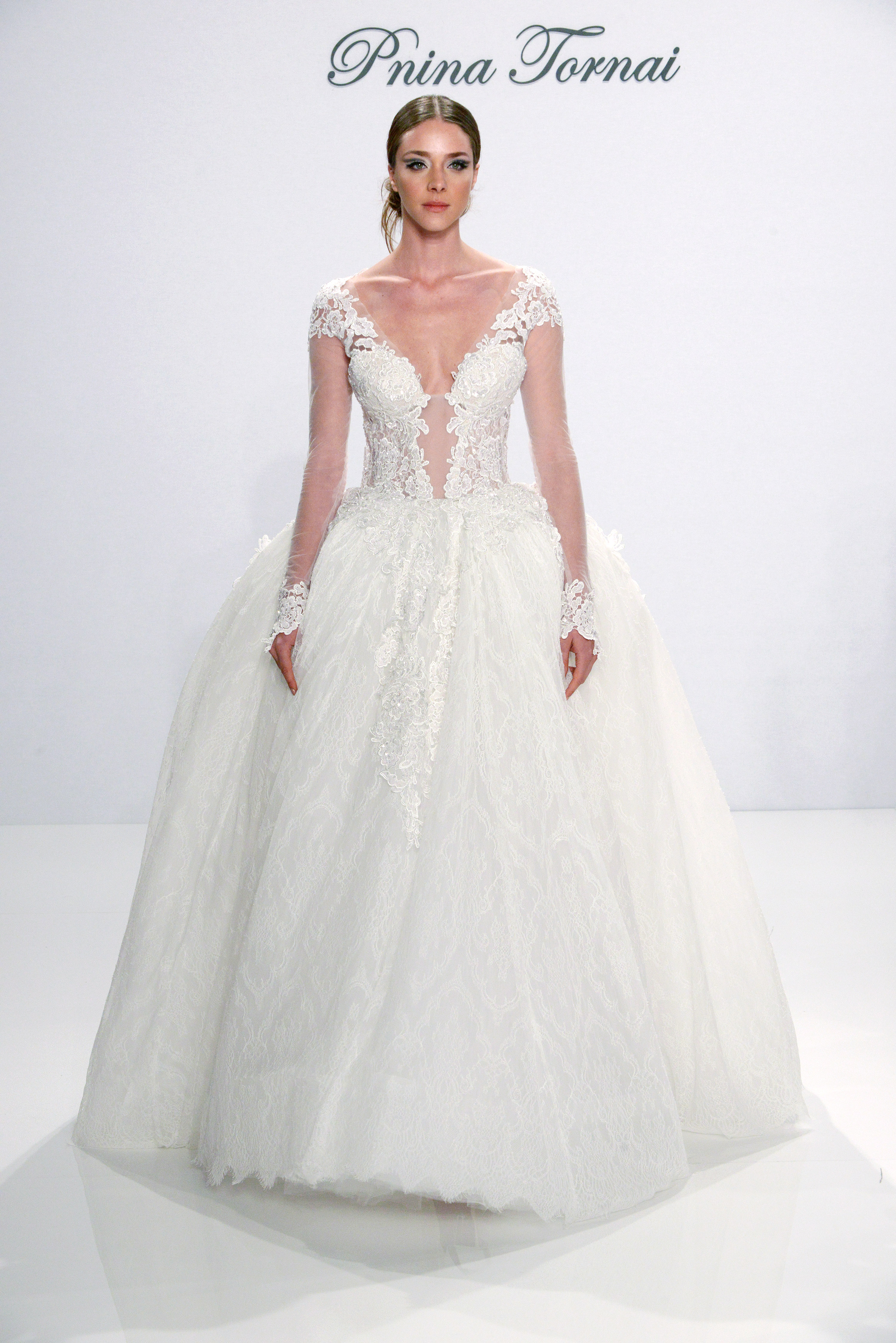Pnina Tornai Fall 2017 wedding dress collection