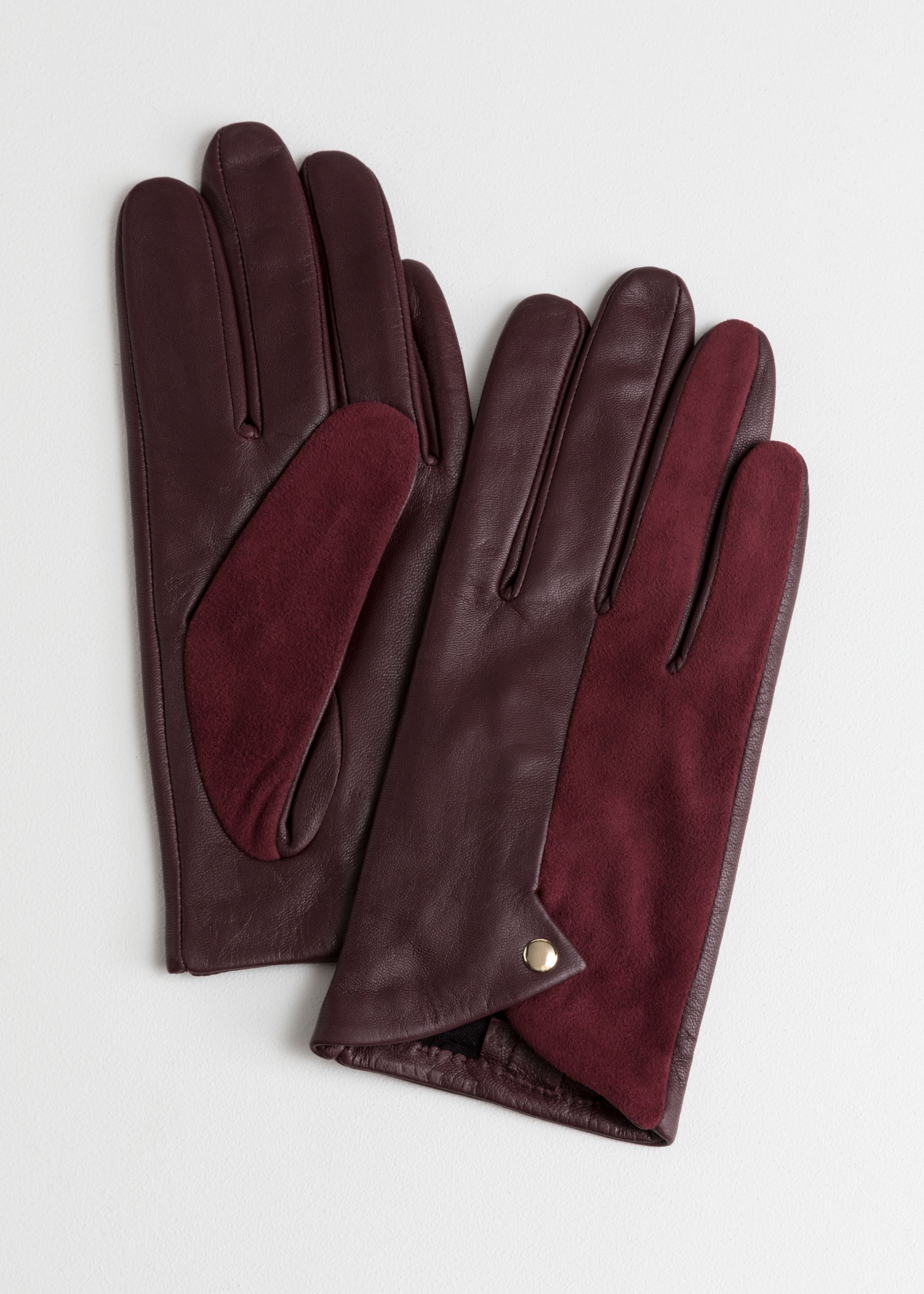 bride gift guide and other stories maroon gloves