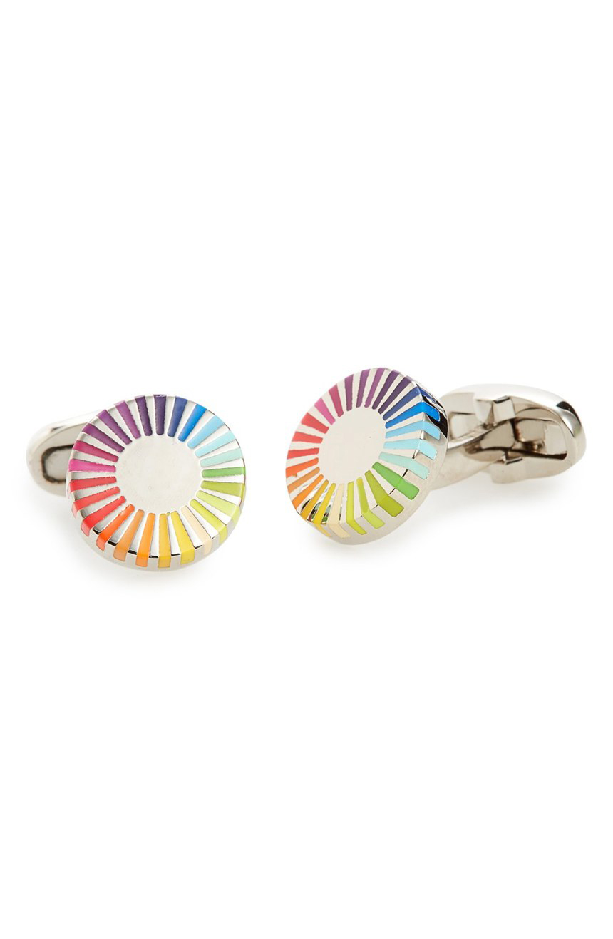 Colorful Cuff Links