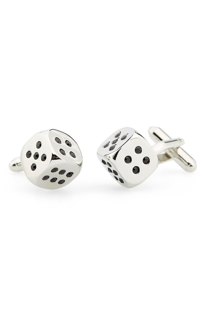 Dice Cuff Links