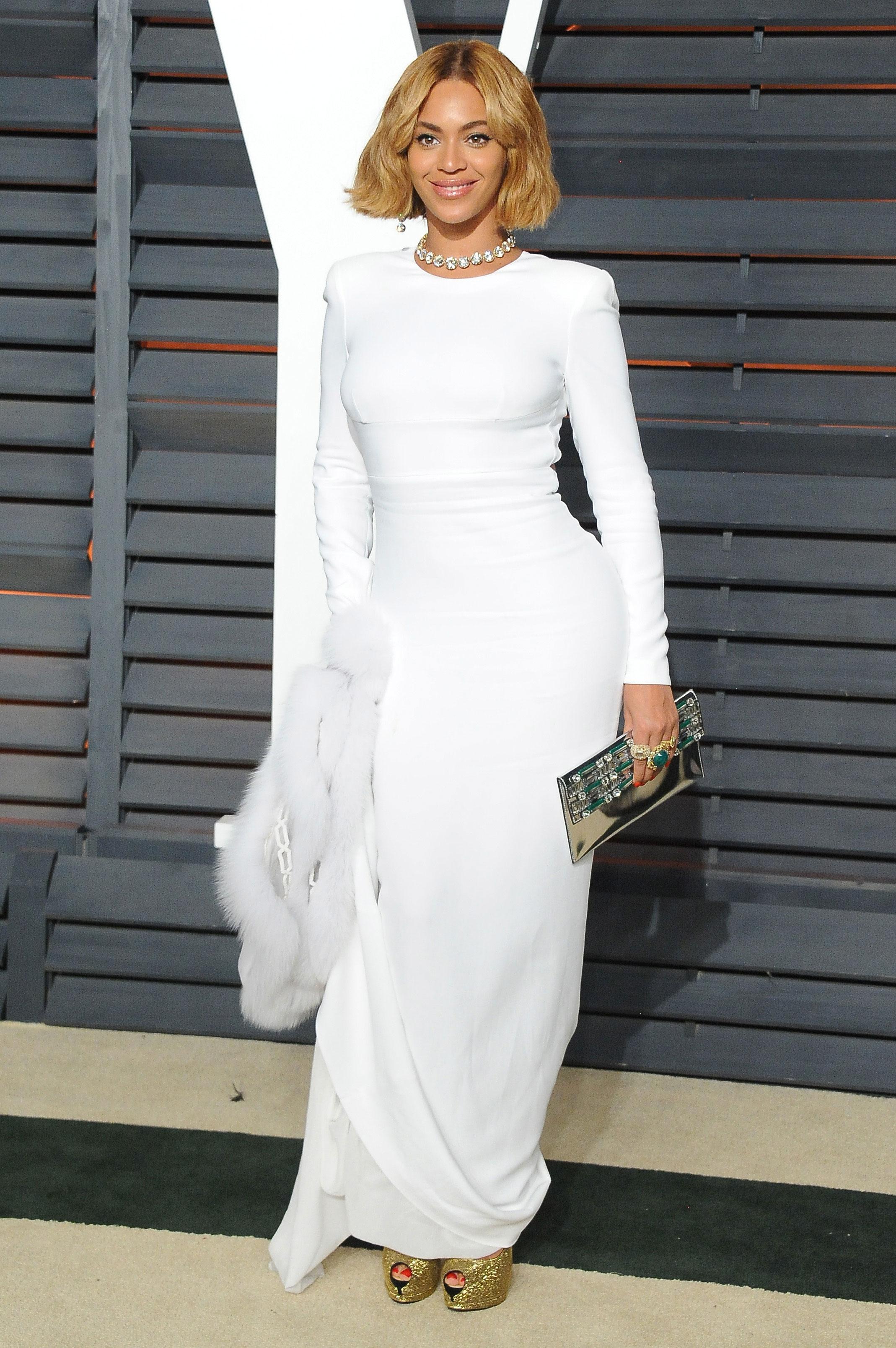 Beyonce Vanity Fair Oscar Party