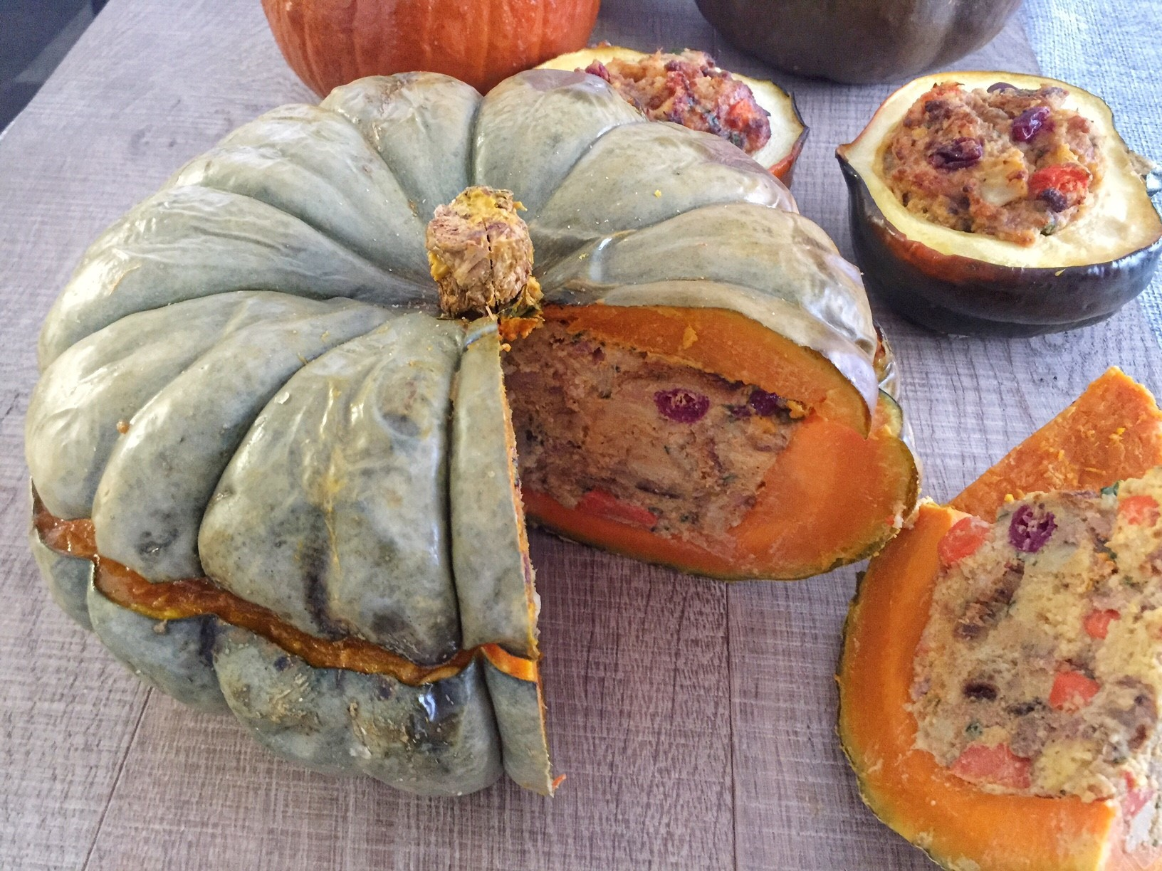 Stuffing in a Winter Squash