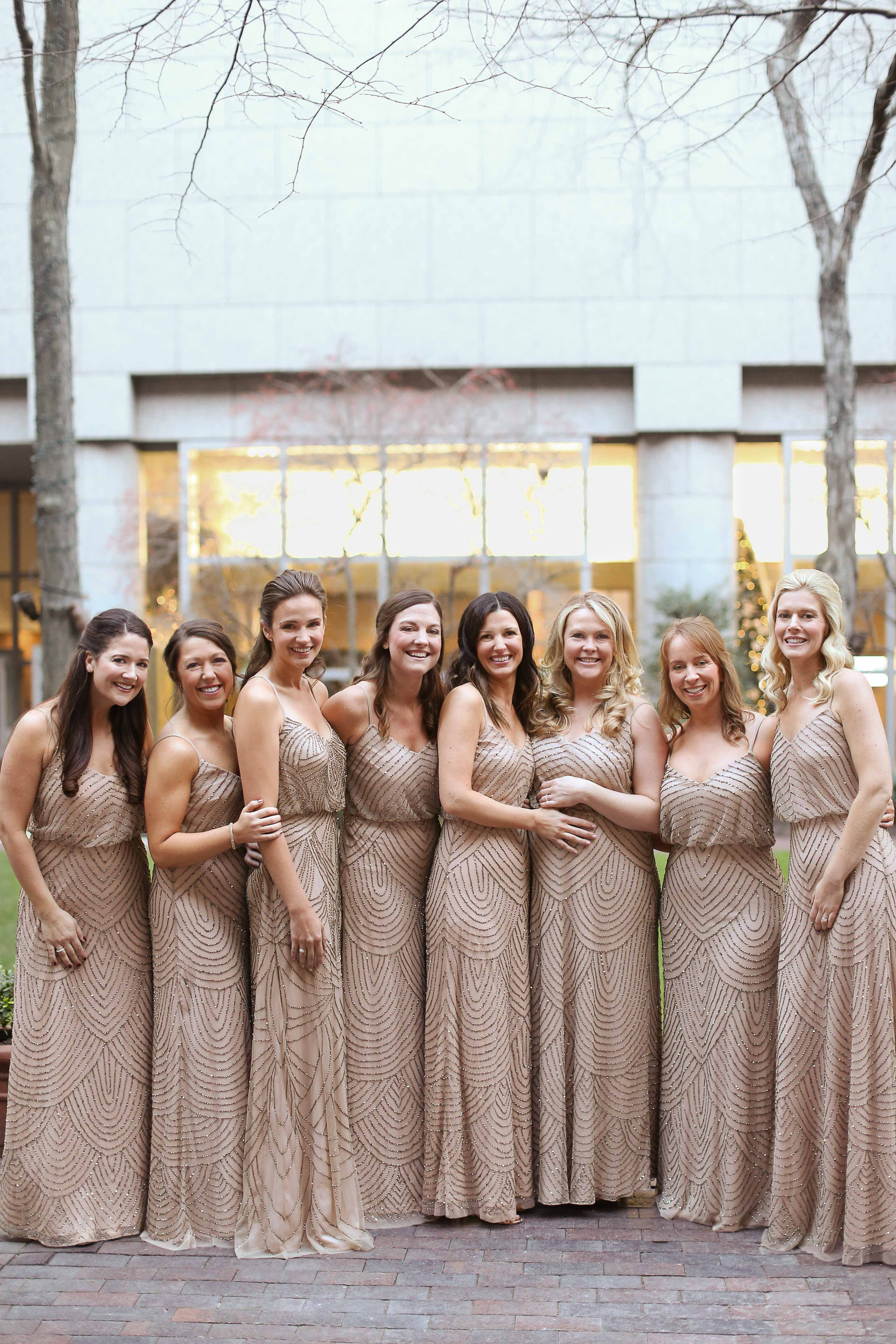 New Years Eve Wedding.A Metallic New Year S Eve Wedding In Philly Martha Stewart Weddings