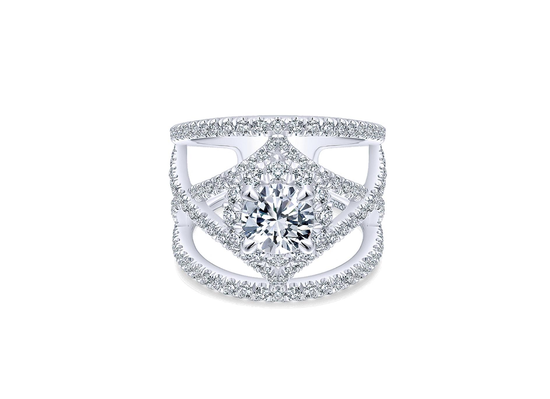 Gabriel & Co. Engagement Ring