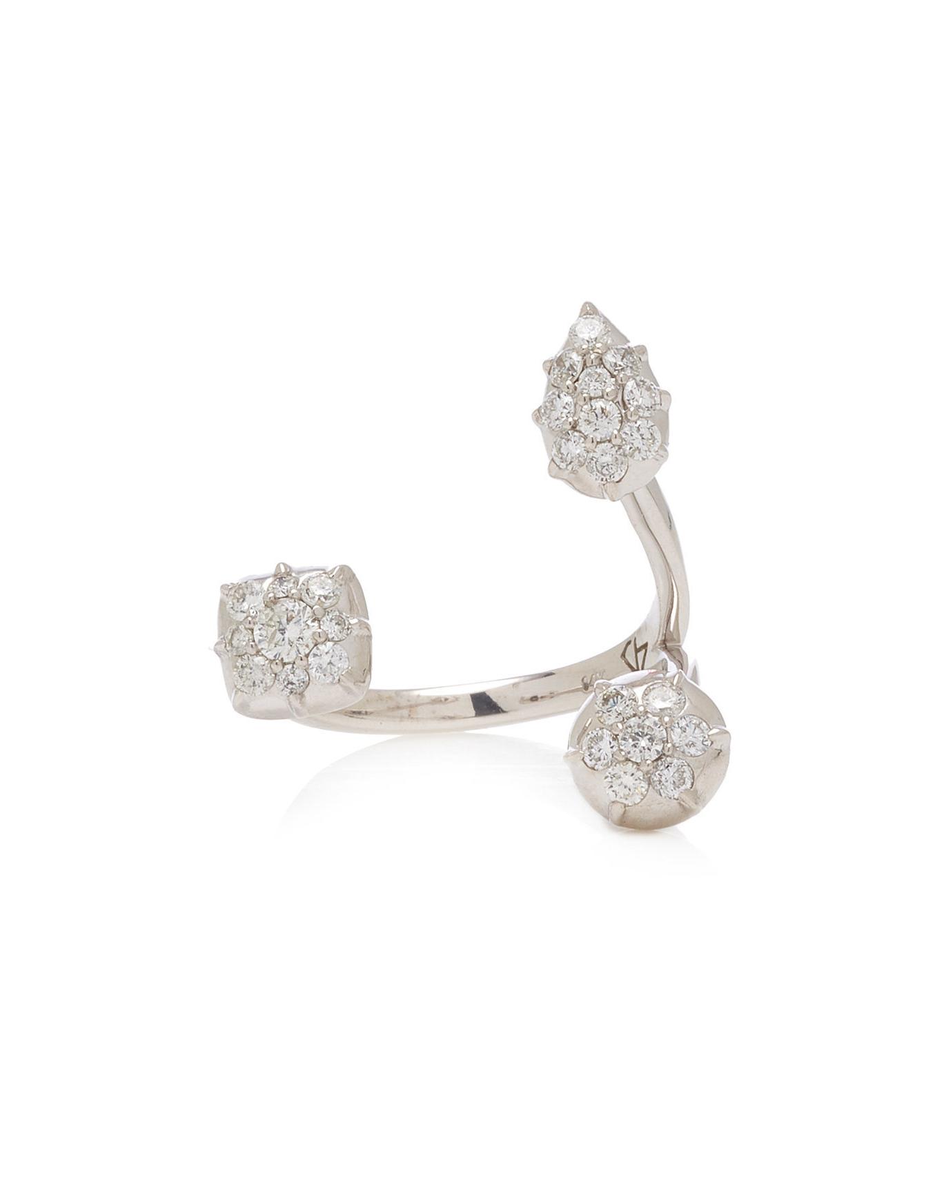 14-karat White Gold Diamond engagement Ring