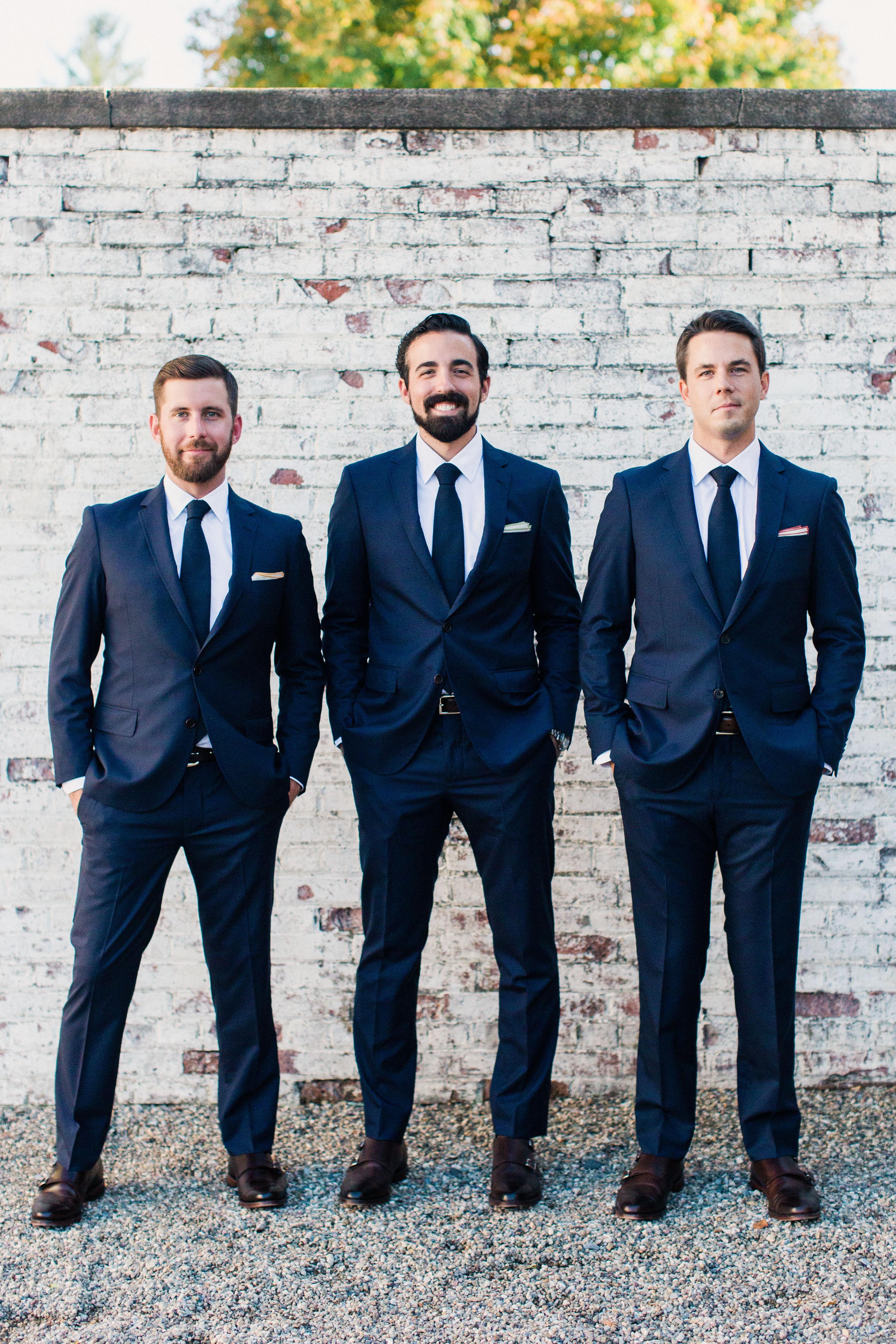 sarah greg new jersey wedding groomsmen