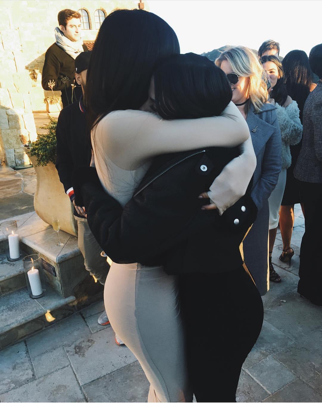Kylie Jenner Hugging Assistant Victoria Villarroel Gamero