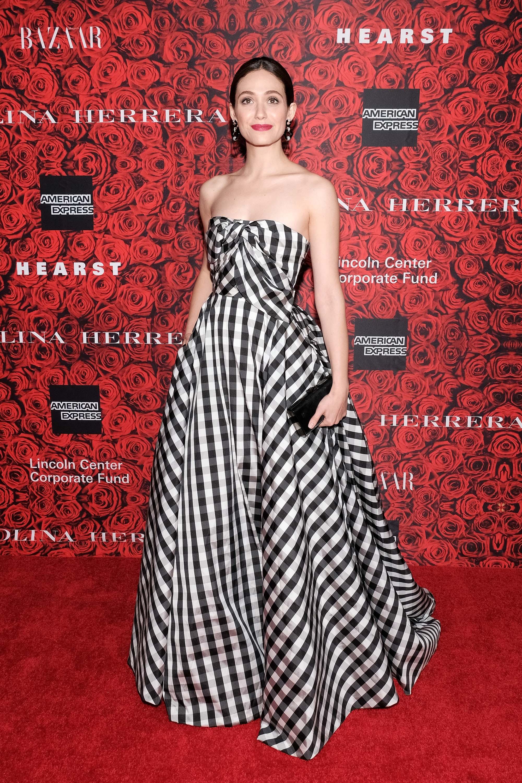 Emmy Rossum at An Evening Honoring Carolina Herrera