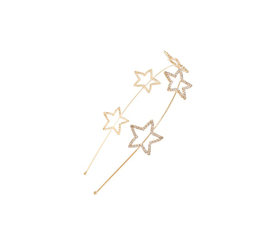 crystal star headband