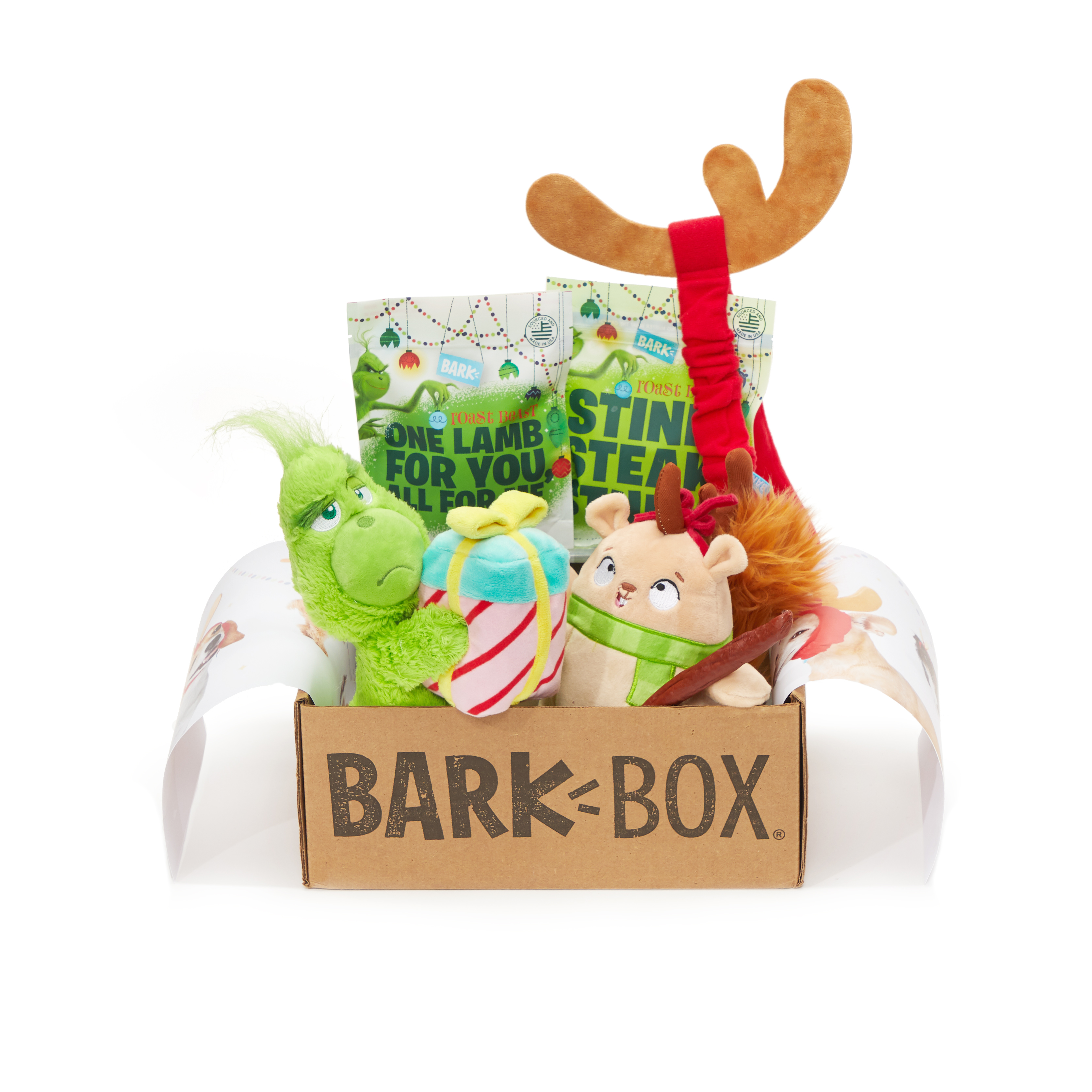 Barkbox Holiday Box, Grinch