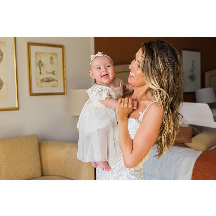 audrina patridge daughter kirra pre-wedding