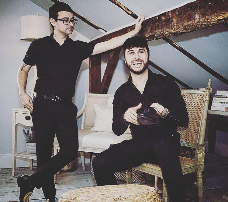 christian siriano brad walsh pre-wedding portrait