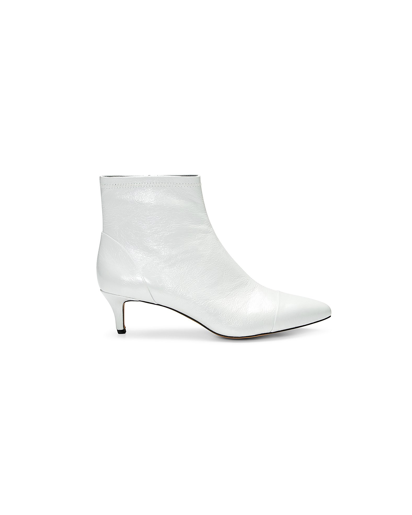 white bridal booties rebecca minkoff siya