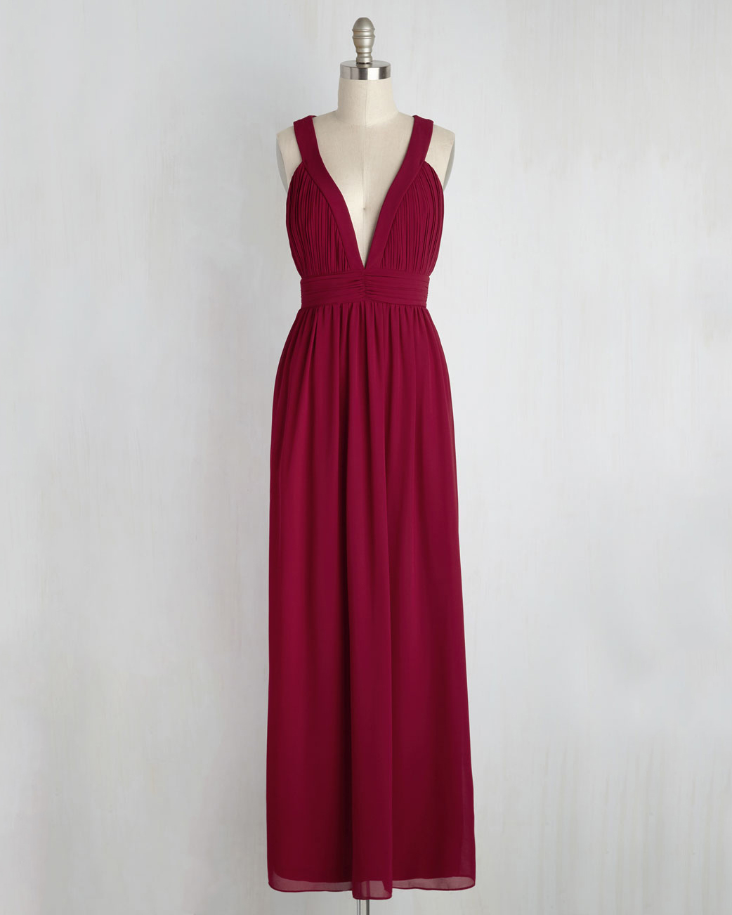 """burgundy bridesmaid dress – Modcloth """"Glamour Out the Details"""""""