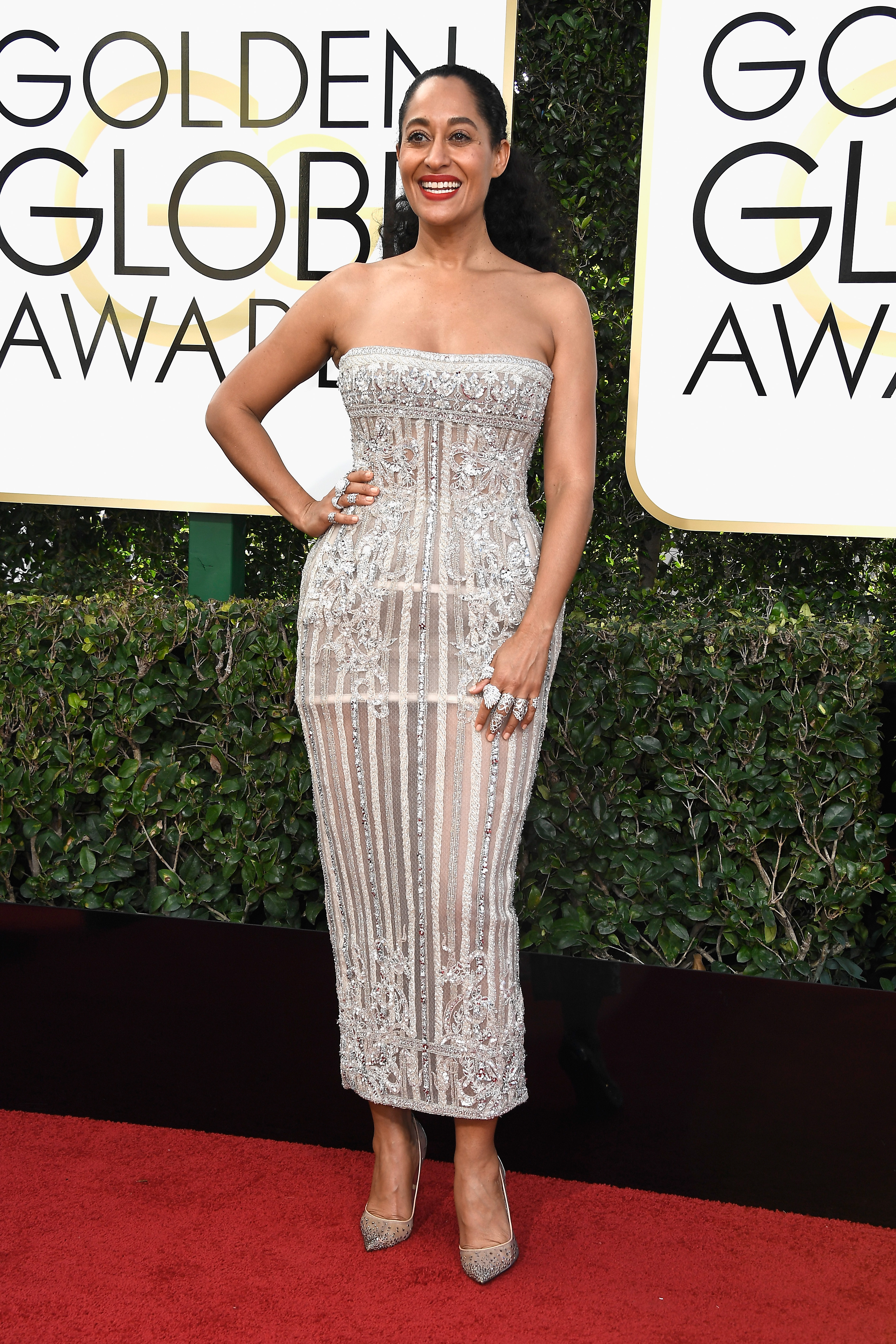 Tracee Ellis Ross Golden Globes 2017