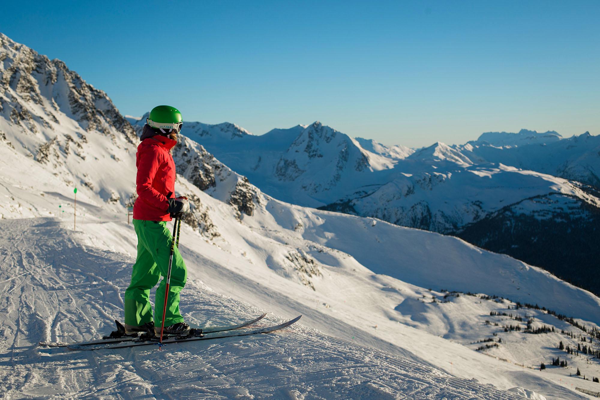 Honeymoon ski canada