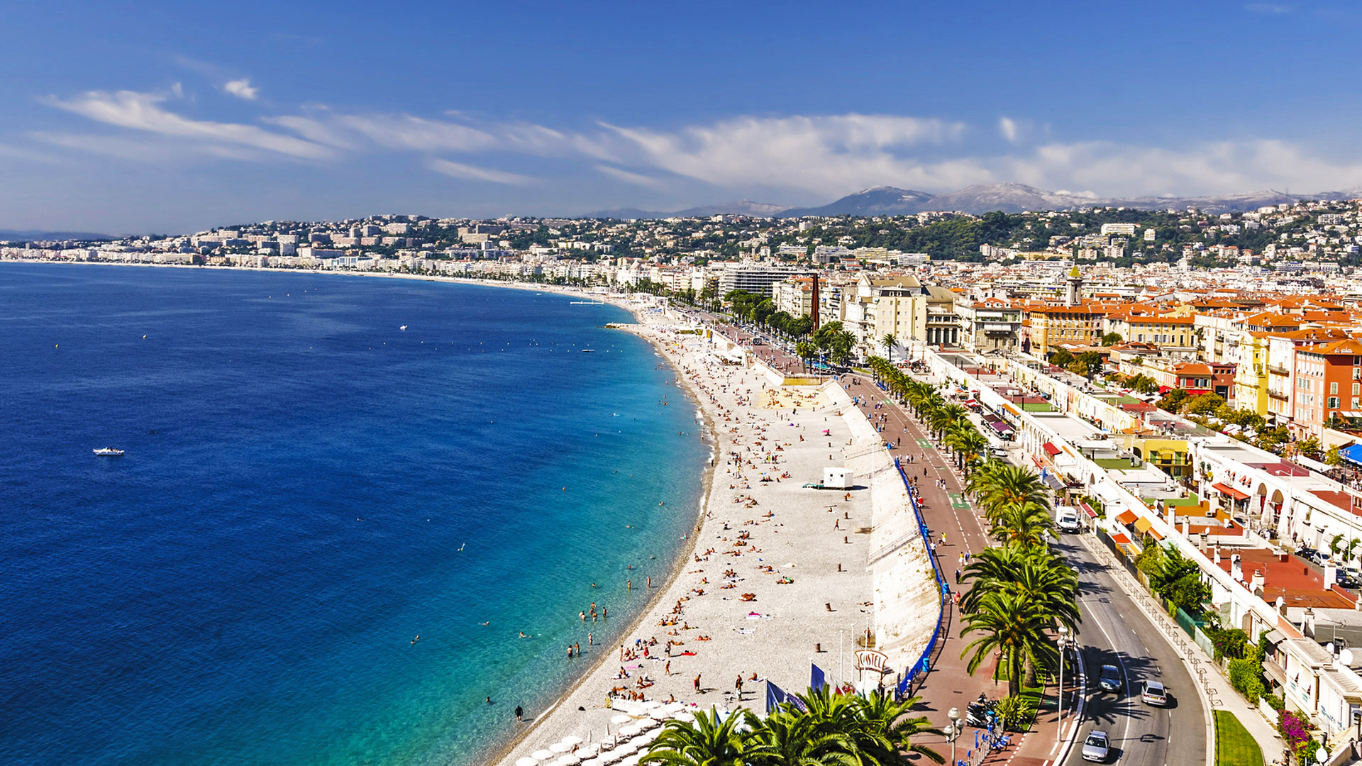 romantic destination france nice coast