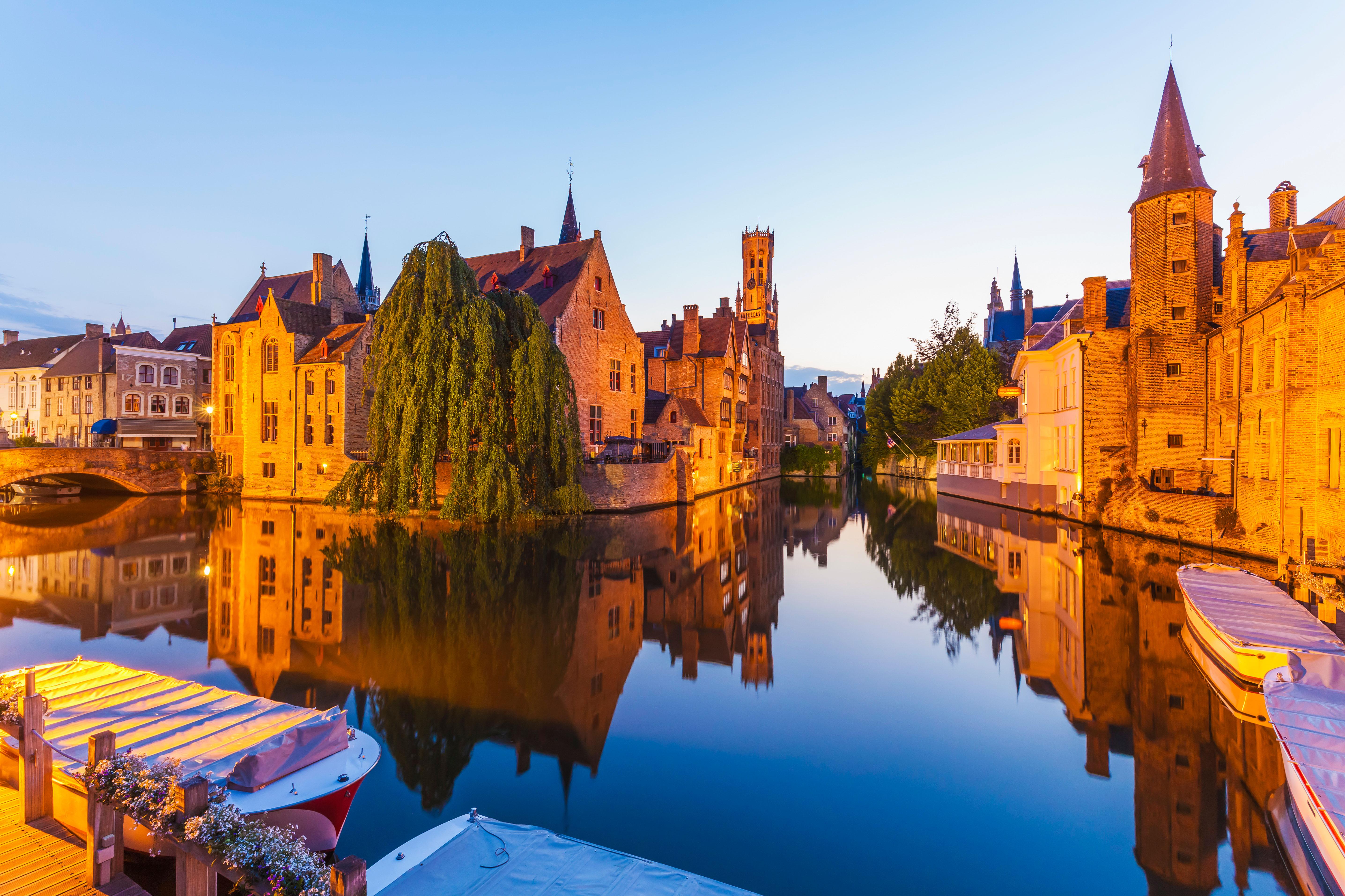 romantic destination bruges belgium