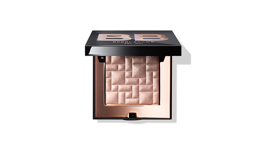 rose gold bobbi brown highlighting powder