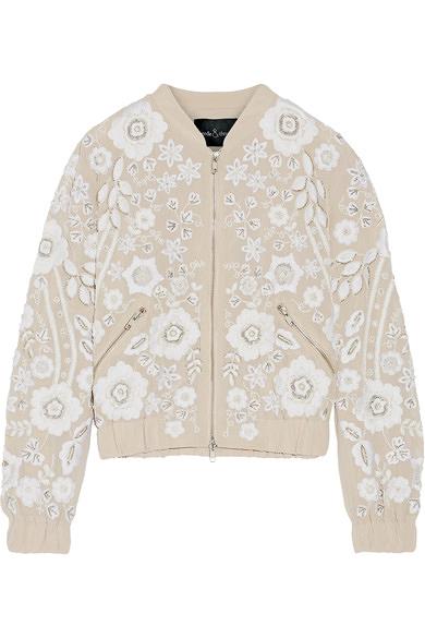 bridal bomber jackets