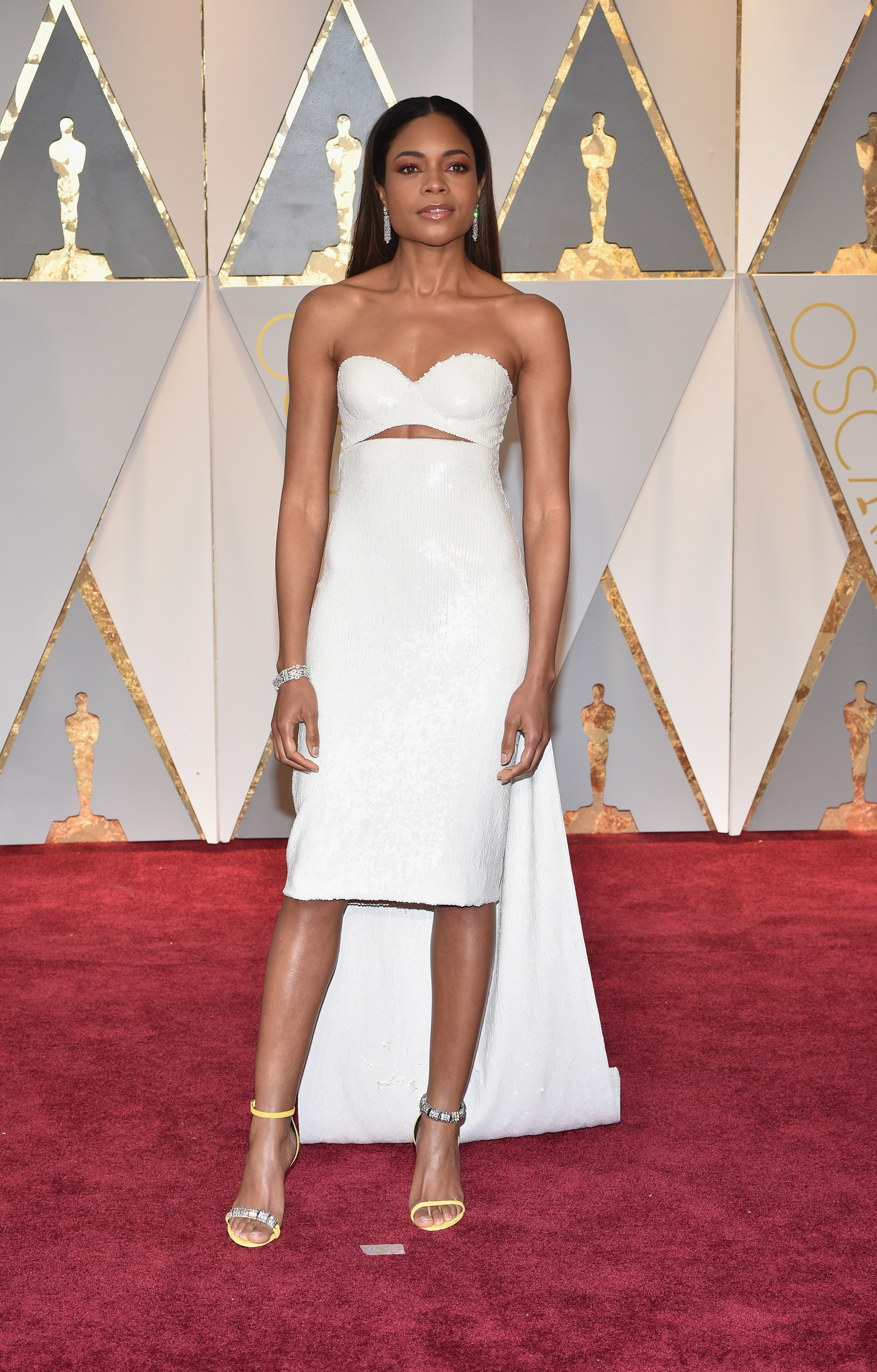 Naomie Harris 2017 OscarsRed Carpet