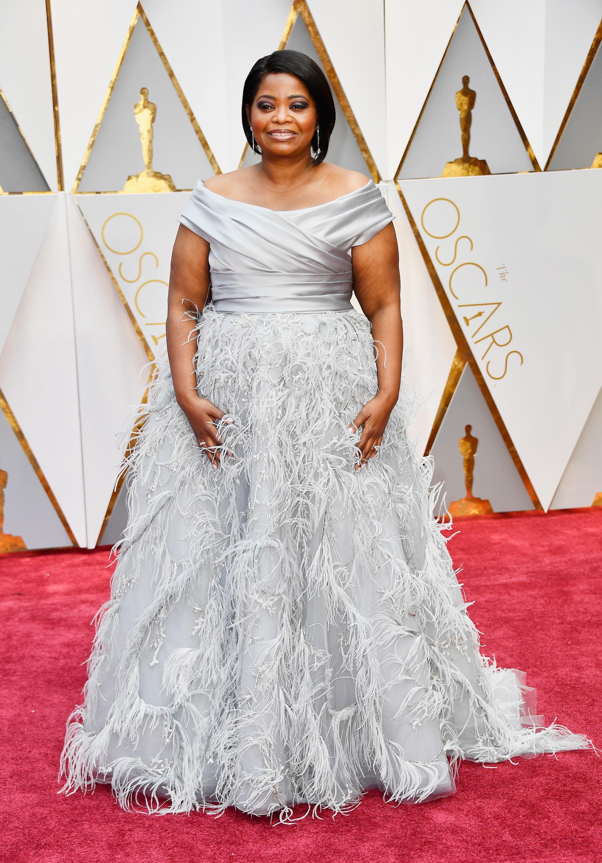 Octavia Spencer 2017 OscarsRed Carpet