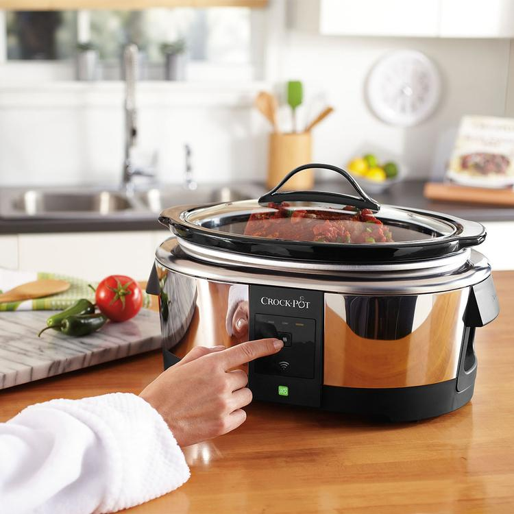 Smartphone Connected Slow Cooker