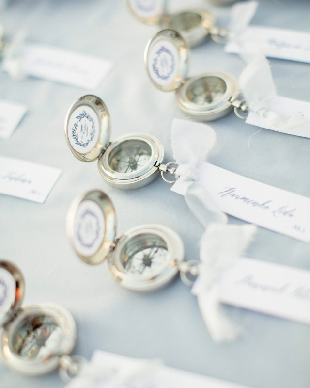 Compass Wedding Favors