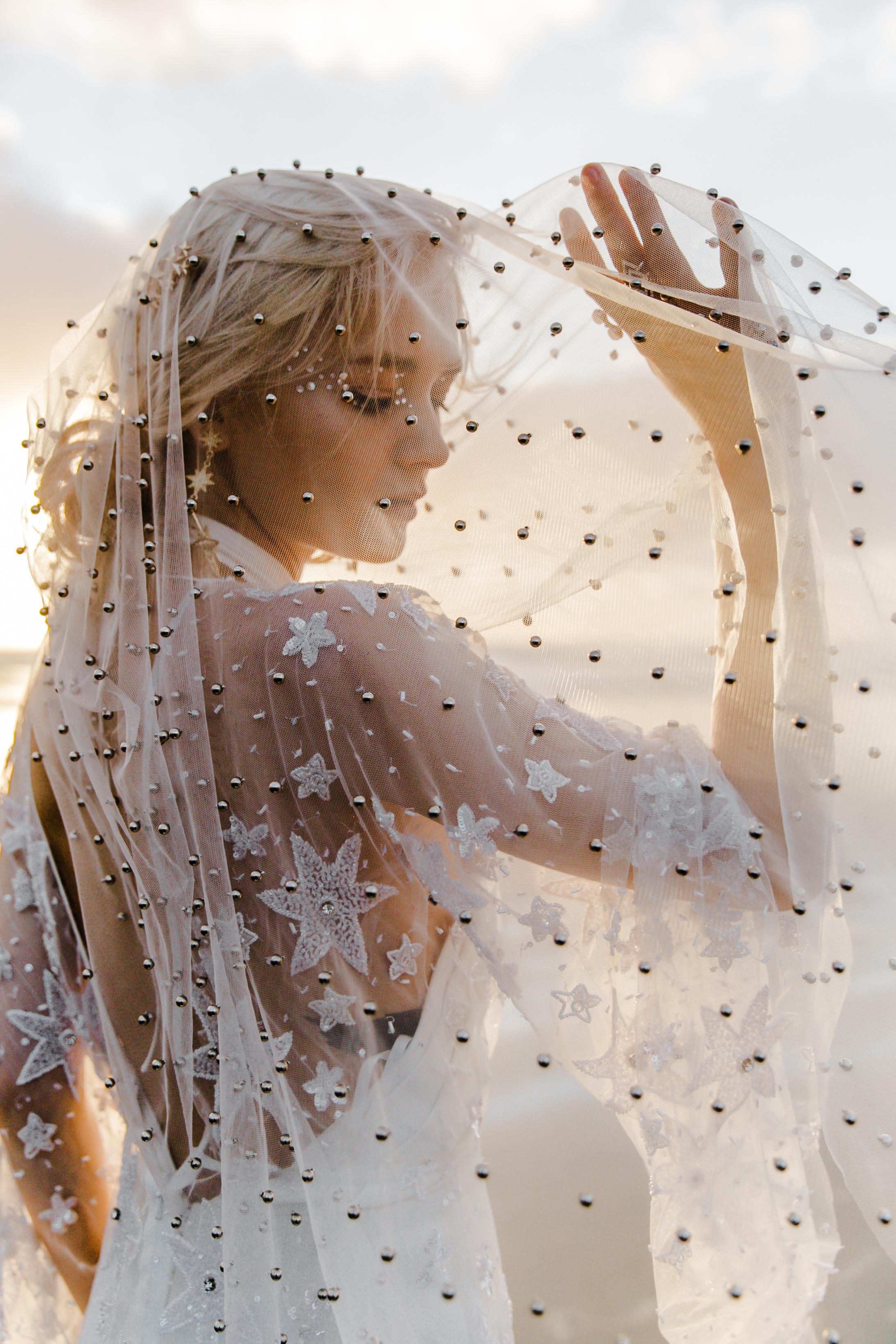 Celestial Wedding Veil