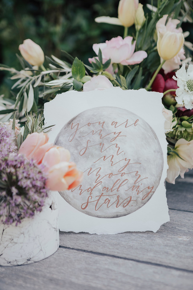 Celestial Wedding Moon Sign
