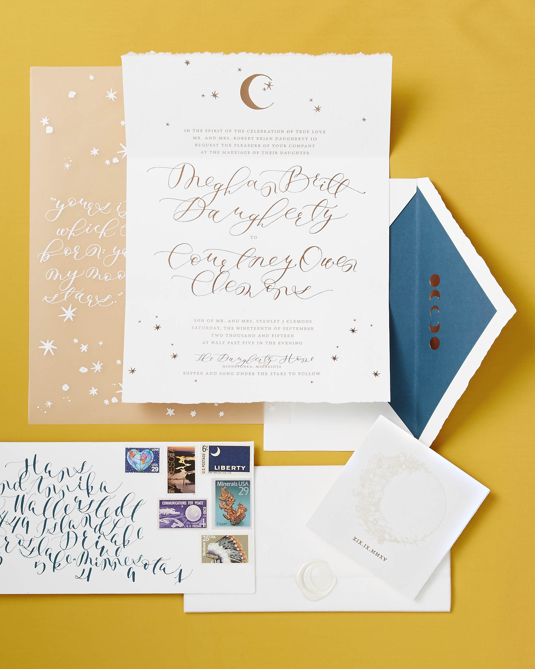 A Celestial Stationery Suite