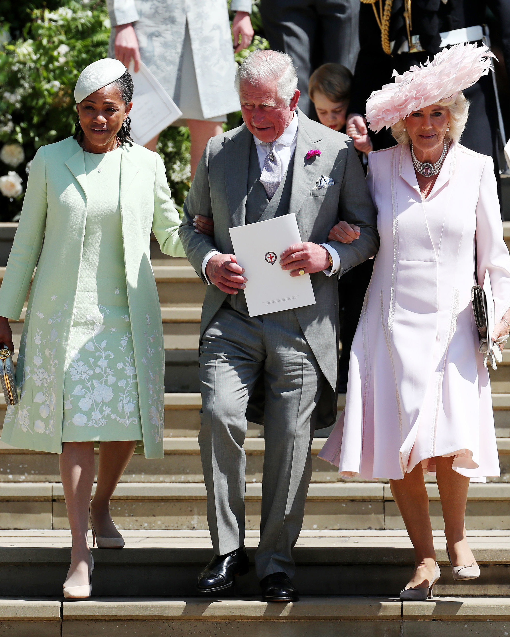 celebrity mother of the bride doria ragland prince of wales charles